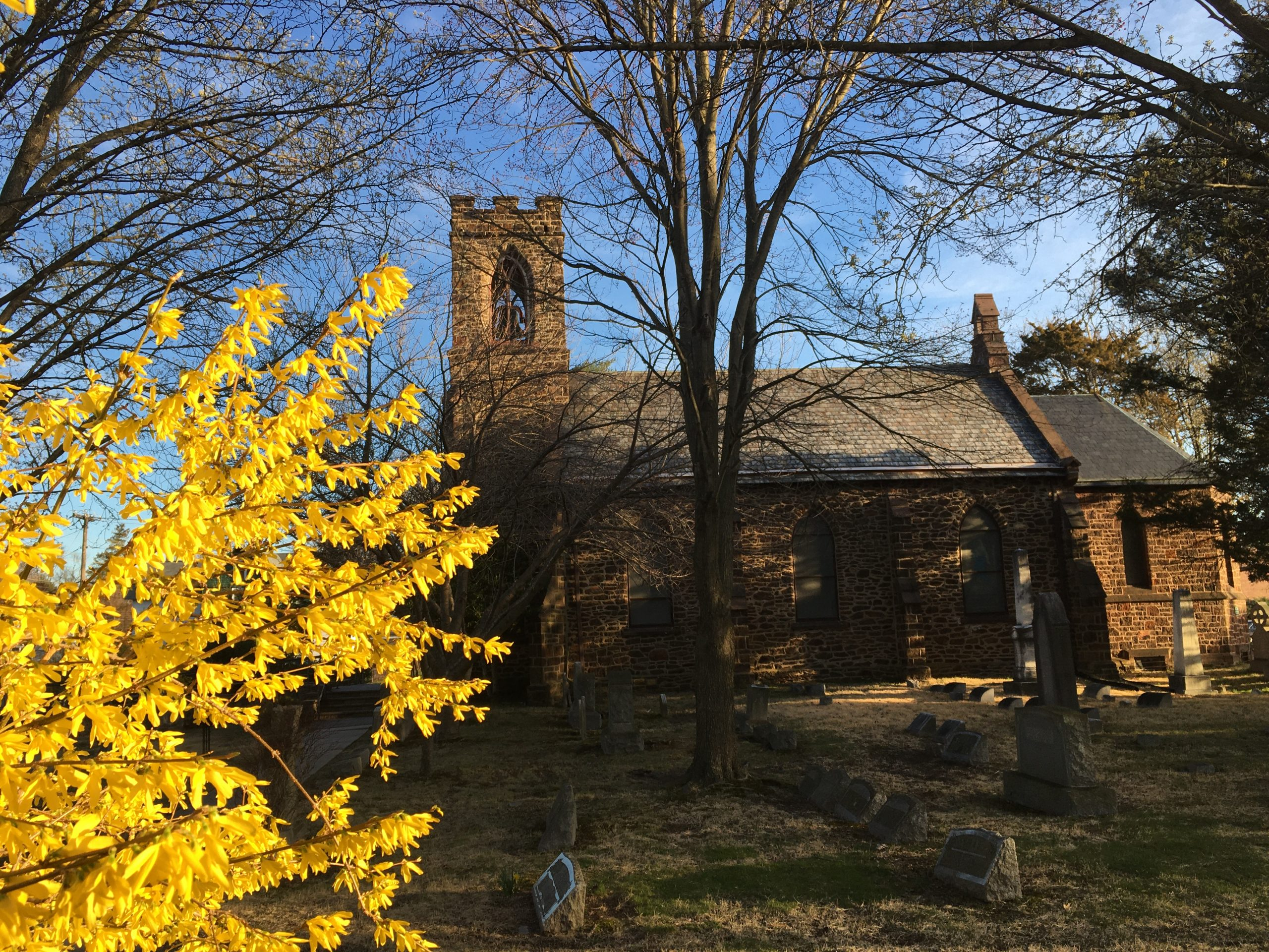 St. Thomas' in early spring!